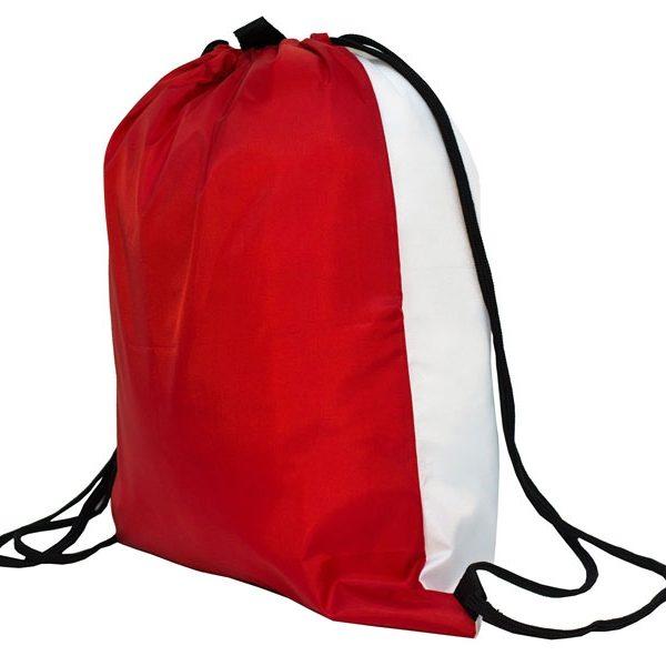 Мешок для обуви LIFE (красно-белый)
