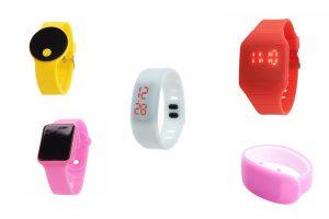 LED часы наручные, электронные
