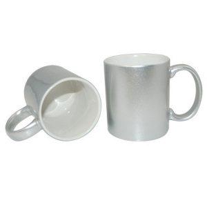 Кружка серебряная для сублимации
